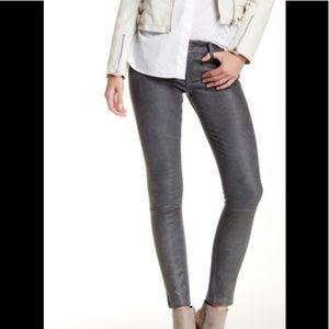 Dl1961 leather front legging